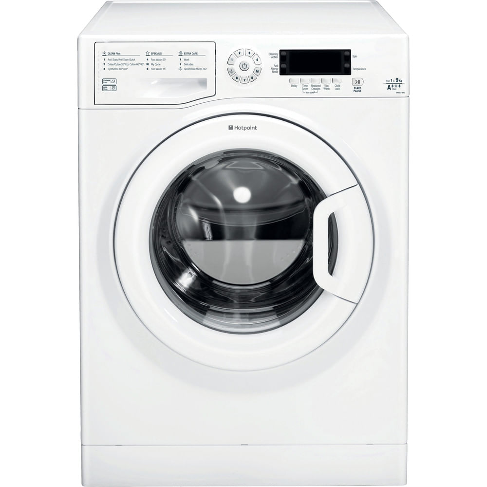 Hotpoint Freestanding Washing Machine WMJLD 943P UK : discover the specifications of our home appliances and bring the innovation into your house and family.