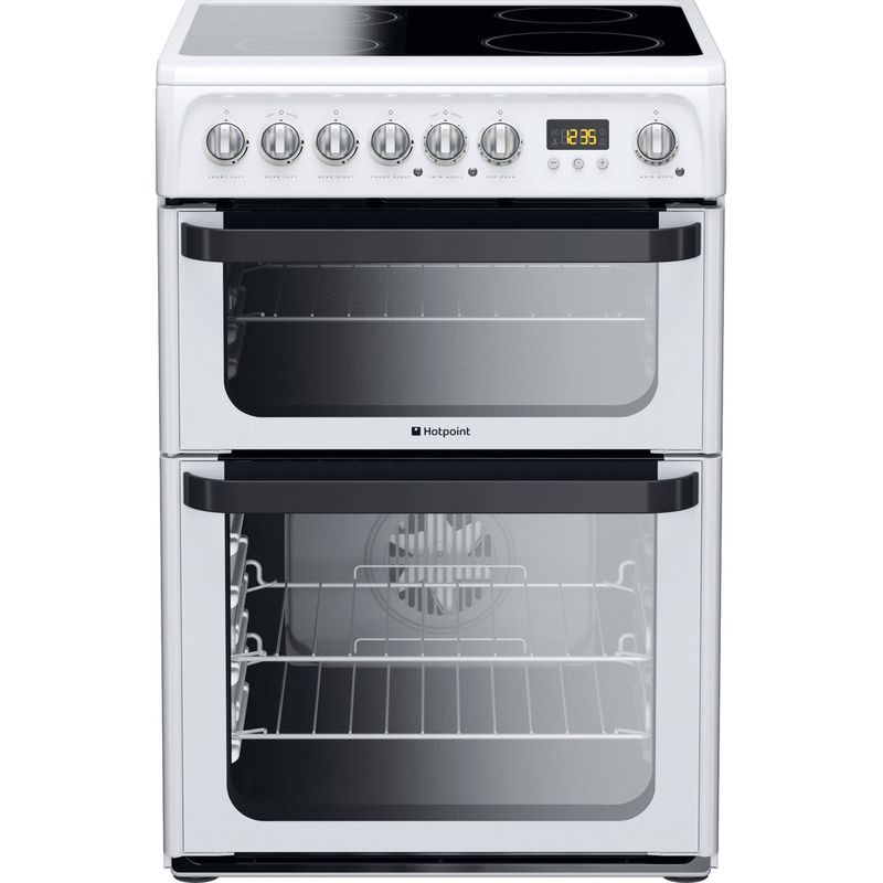 Hotpoint-Double-Cooker-JLE60P-White-B-Vitroceramic-Frontal