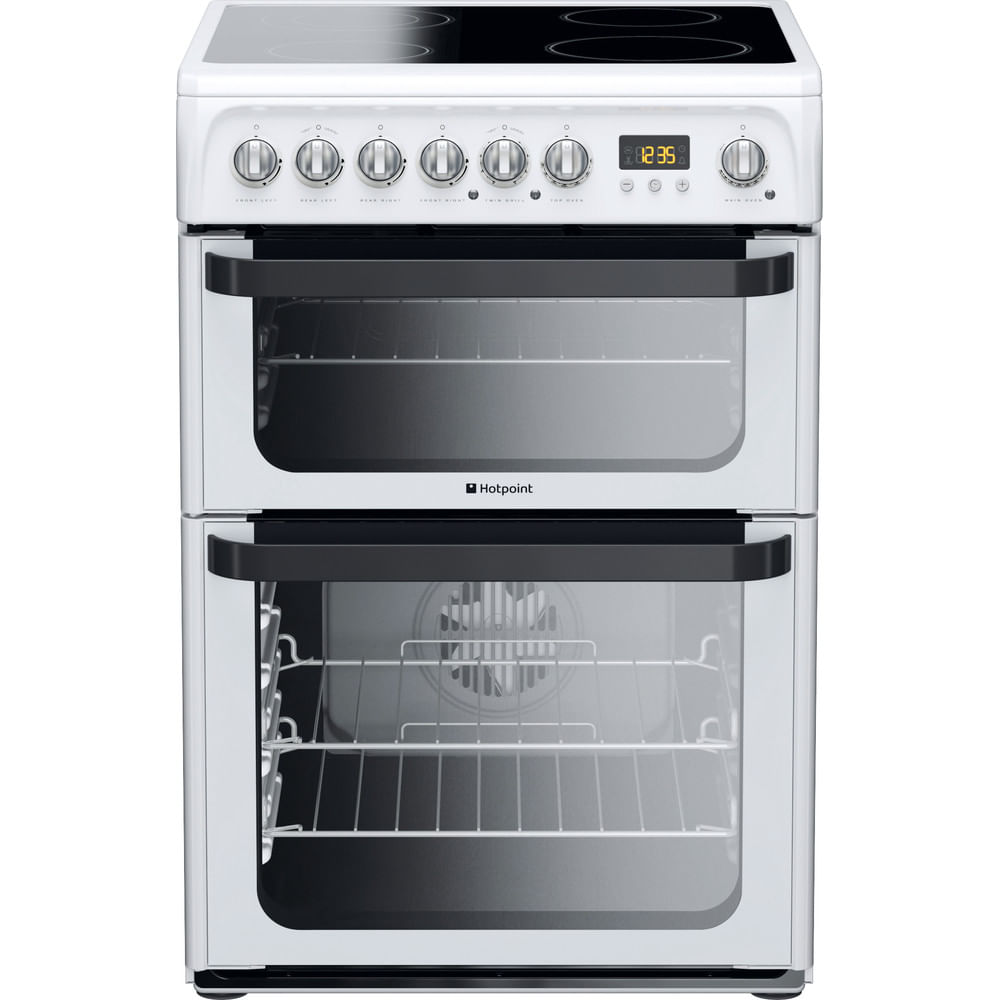 Hotpoint Double Cooker JLE60P : discover the specifications of our home appliances and bring the innovation into your house and family.