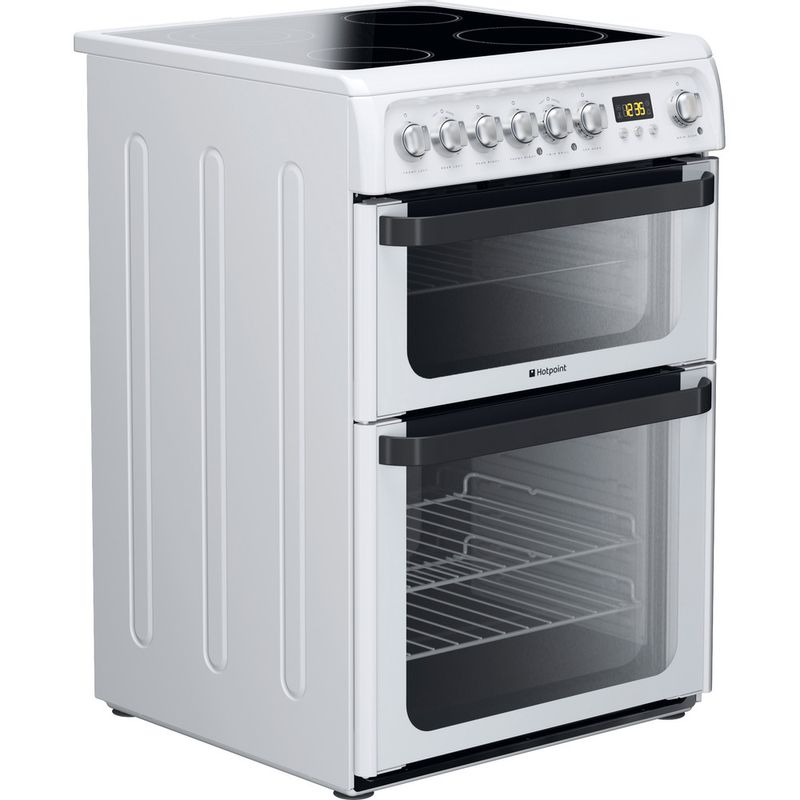 Hotpoint-Double-Cooker-JLE60P-White-B-Vitroceramic-Perspective