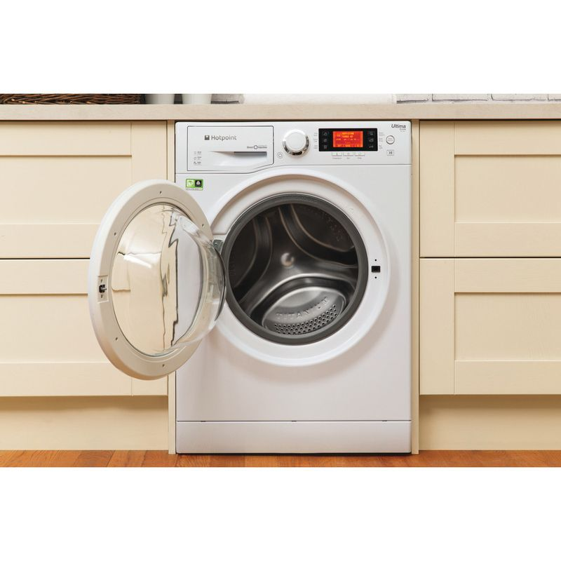 Hotpoint-Washing-machine-Free-standing-RPD-8457-J-UK-1-White-Front-loader-A----Lifestyle-frontal-open