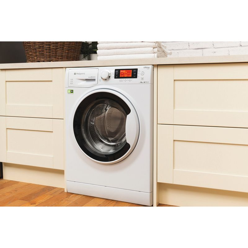 Hotpoint-Washing-machine-Free-standing-RPD-9467-J-UK-1-White-Front-loader-A----Lifestyle-perspective-open