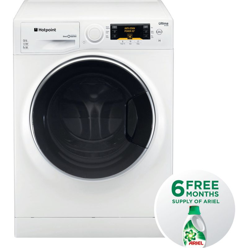 Hotpoint-Washing-machine-Free-standing-RPD-10477-DD-UK-1-White-Front-loader-A----Frontal