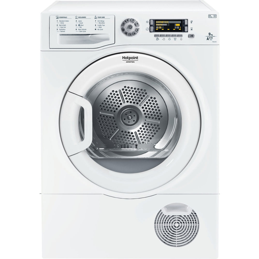 Hotpoint Freestanding tumble dryer FTCD 972 6PM1 (UK) : discover the specifications of our home appliances and bring the innovation into your house and family.