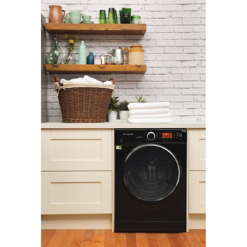 Hotpoint-Washing-machine-Free-standing-RPD-9477-DKD-UK-Black-Front-loader-A----Lifestyle_Frontal