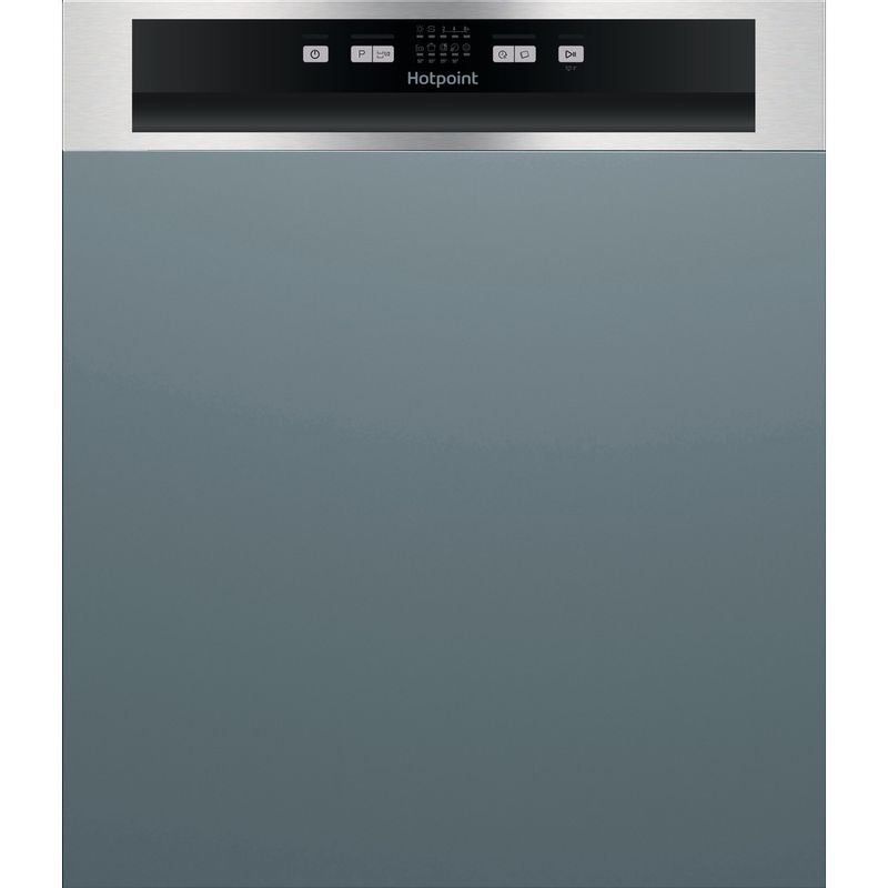 Hotpoint-Dishwasher-Built-in-HBC-2B19-X-UK-Half-integrated-F-Frontal