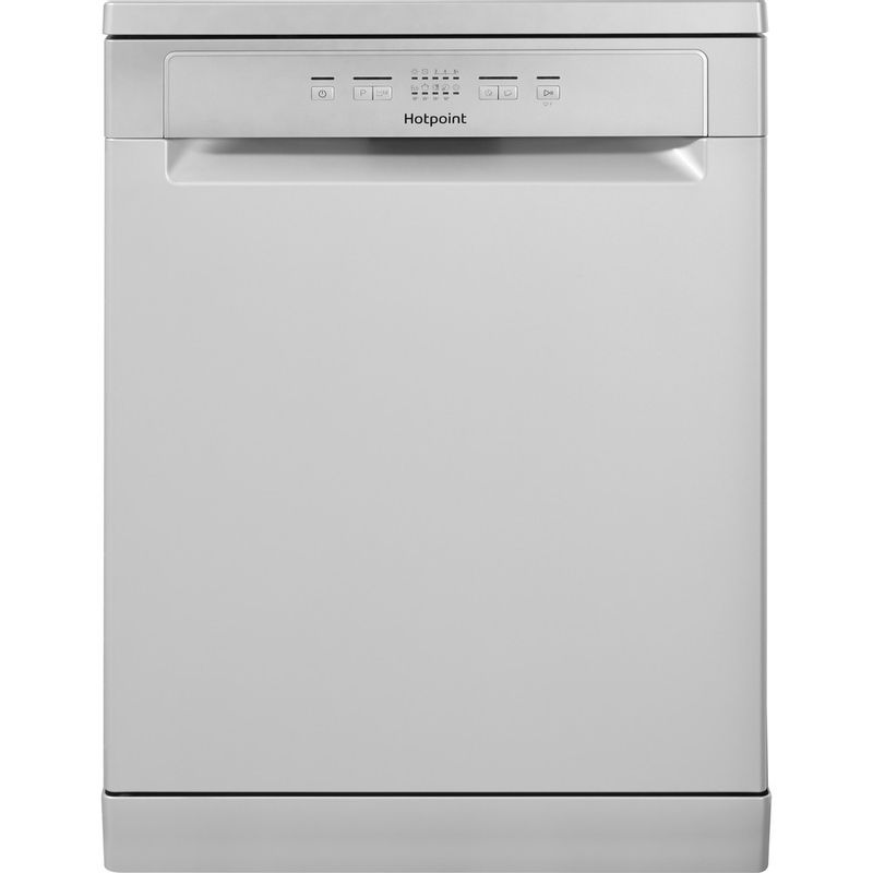 Hotpoint-Dishwasher-Free-standing-HFC-2B19-SV-UK-Free-standing-A-Frontal