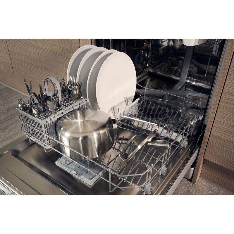Hotpoint-Dishwasher-Free-standing-HFC-2B19-SV-UK-Free-standing-A-Rack