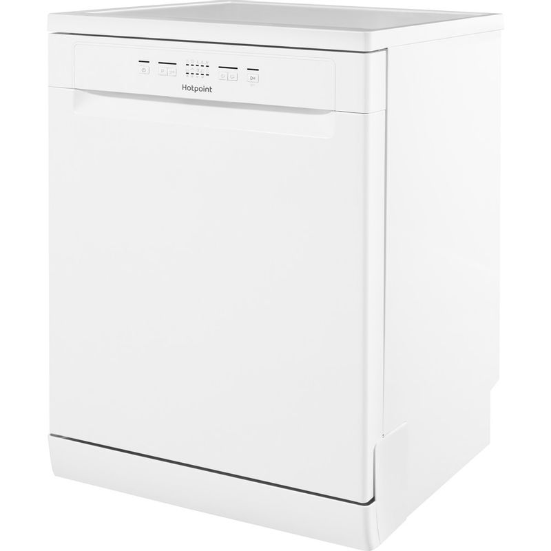 Hotpoint-Dishwasher-Free-standing-HFC-2B19-UK-Free-standing-A-Perspective