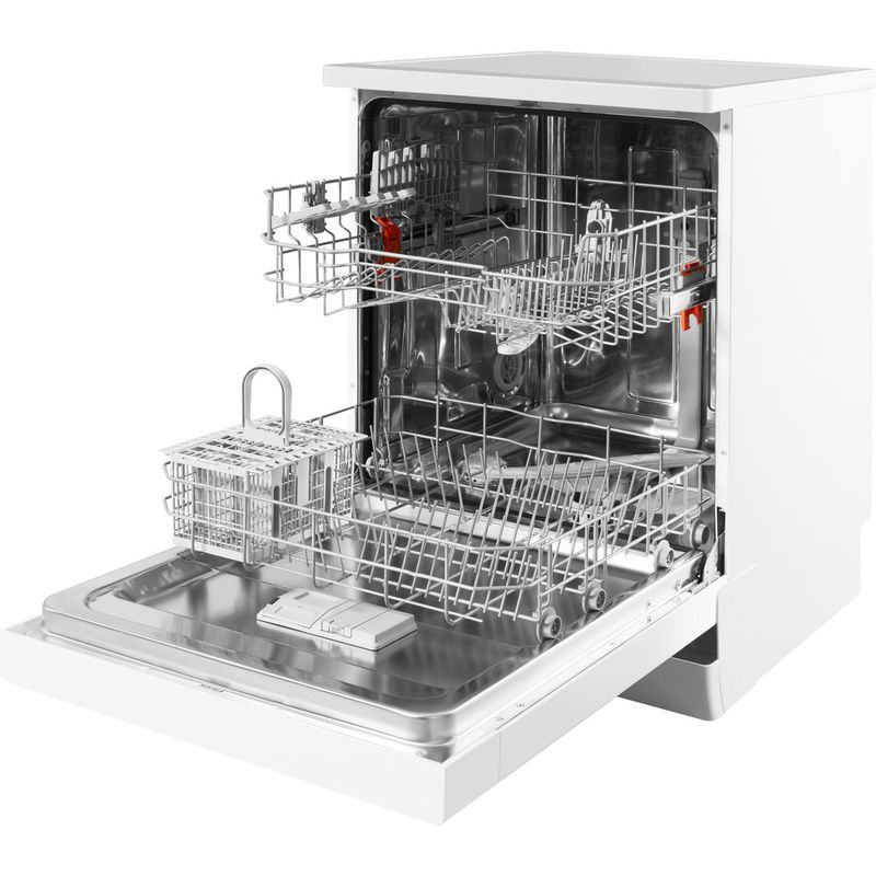 Hotpoint-Dishwasher-Free-standing-HFC-2B19-UK-Free-standing-A-Perspective_Open