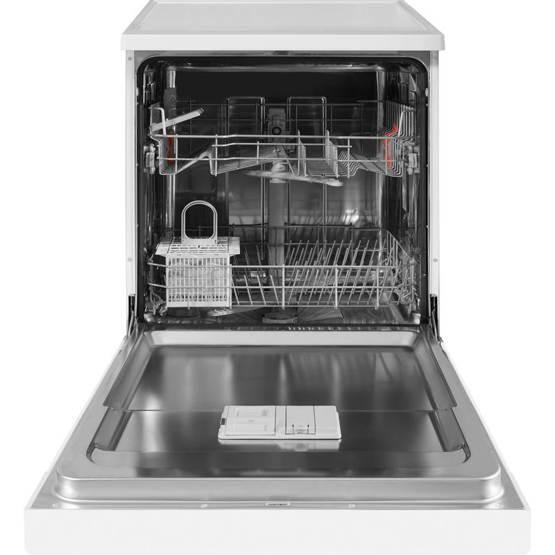 Hotpoint-Dishwasher-Free-standing-HFC-2B19-UK-Free-standing-A-Frontal_Open