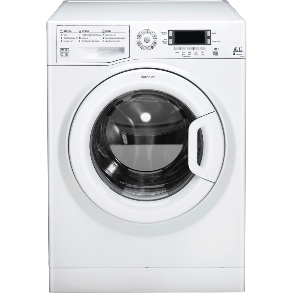 Hotpoint Freestanding Washer Dryer FDD 9640P UK : discover the specifications of our home appliances and bring the innovation into your house and family.