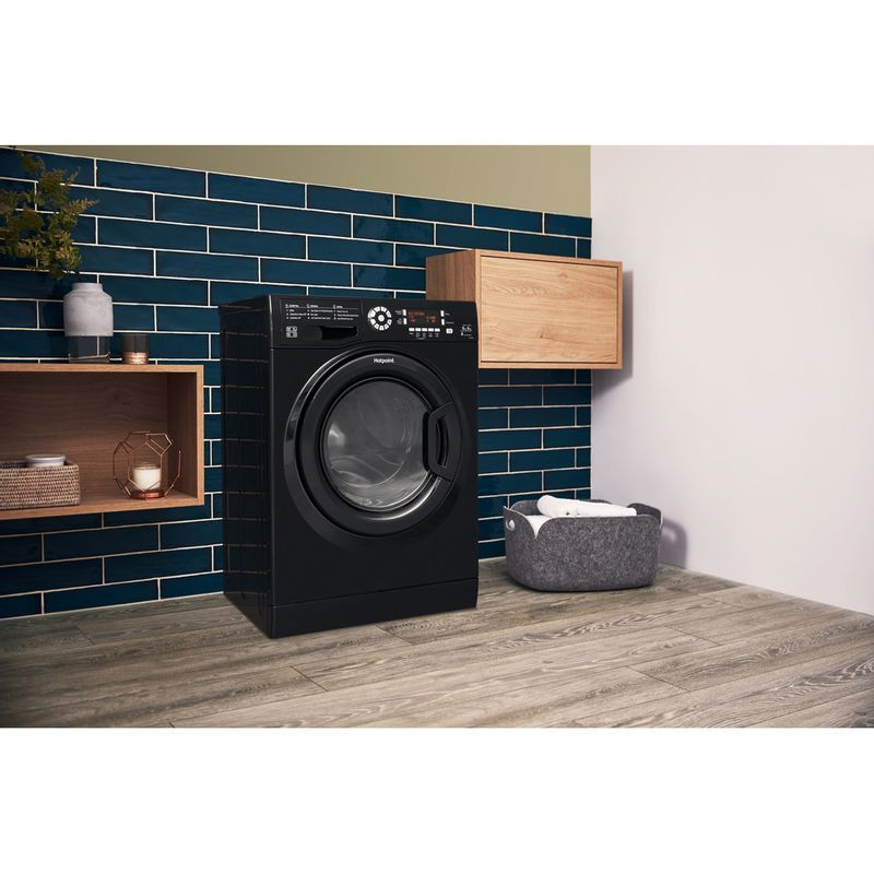 Hotpoint-Washer-dryer-Free-standing-FDD-9640K-UK-Black-Front-loader-Lifestyle_Perspective