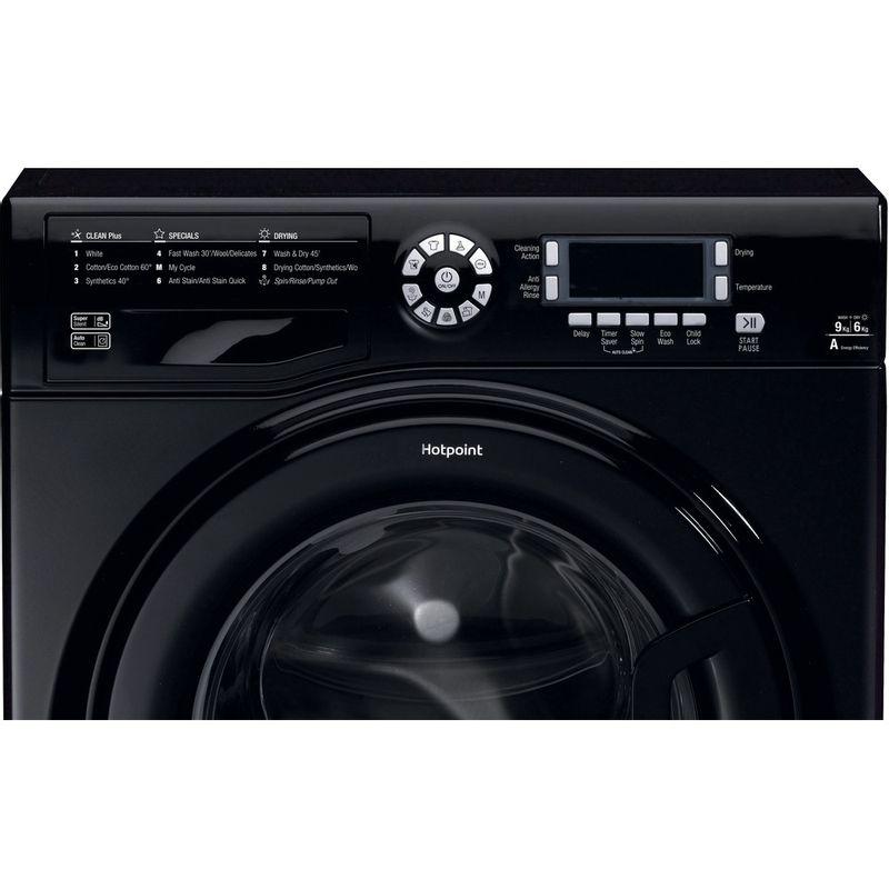 Hotpoint-Washer-dryer-Free-standing-FDD-9640K-UK-Black-Front-loader-Control_Panel