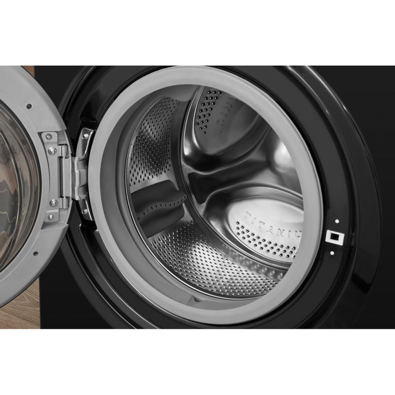 Hotpoint-Washer-dryer-Free-standing-FDD-9640K-UK-Black-Front-loader-Drum
