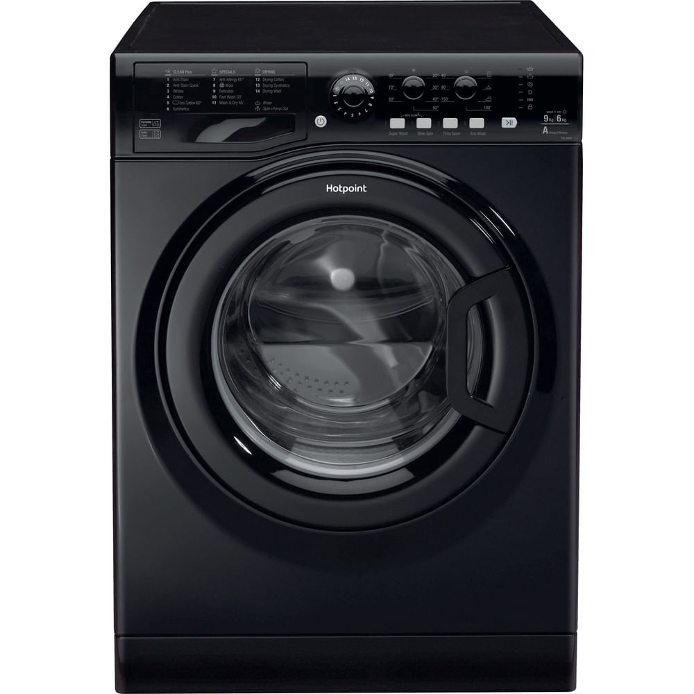 Hotpoint Freestanding Washer Dryer FDL 9640K UK : discover the specifications of our home appliances and bring the innovation into your house and family.