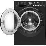 Hotpoint-Washer-dryer-Free-standing-FDL-9640K-UK-Black-Front-loader-Frontal_Open