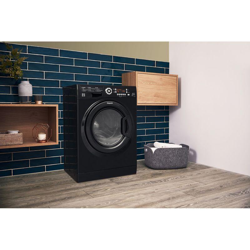 Hotpoint-Washer-dryer-Free-standing-FDL-9640K-UK-Black-Front-loader-Lifestyle_Perspective