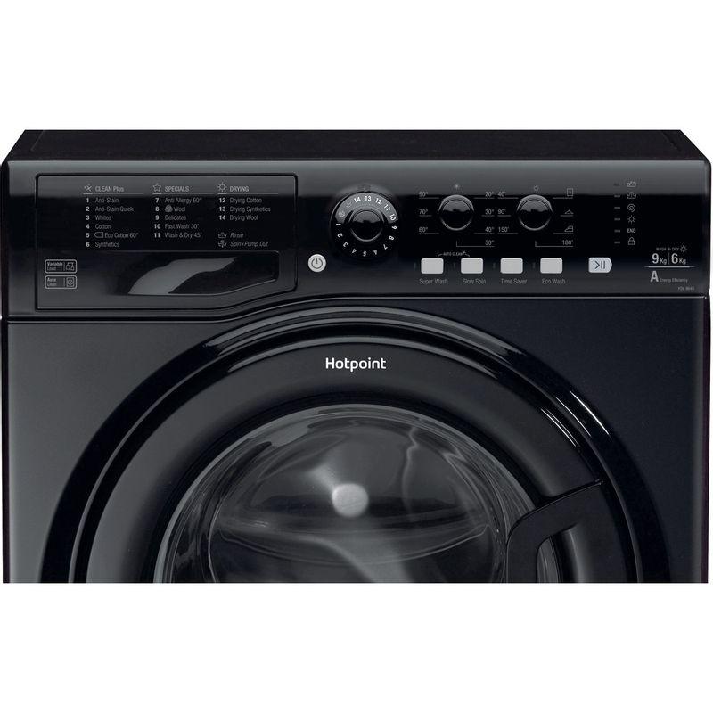 Hotpoint-Washer-dryer-Free-standing-FDL-9640K-UK-Black-Front-loader-Control_Panel