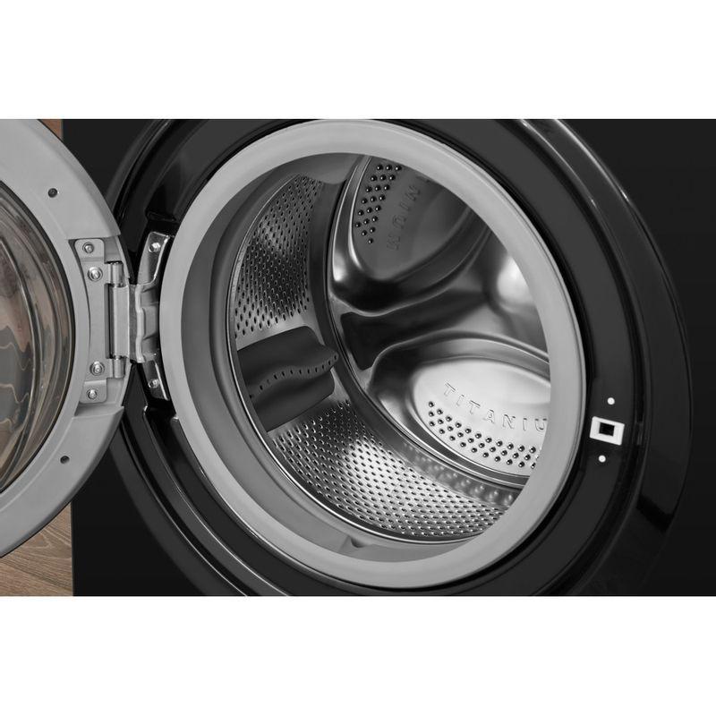 Hotpoint-Washer-dryer-Free-standing-FDL-9640K-UK-Black-Front-loader-Drum