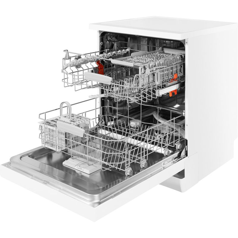 Hotpoint-Dishwasher-Free-standing-HFC-2B-26-C-UK-Free-standing-A-Perspective_Open