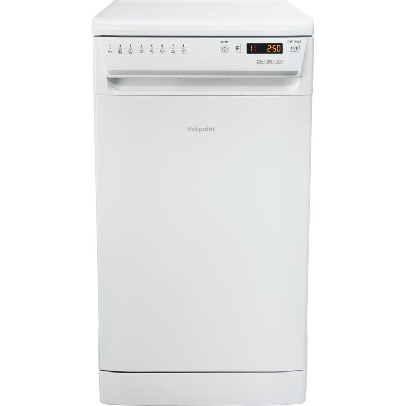 Hotpoint-Dishwasher-Free-standing-LSFF-8M126-UK-Free-standing-A-Frontal