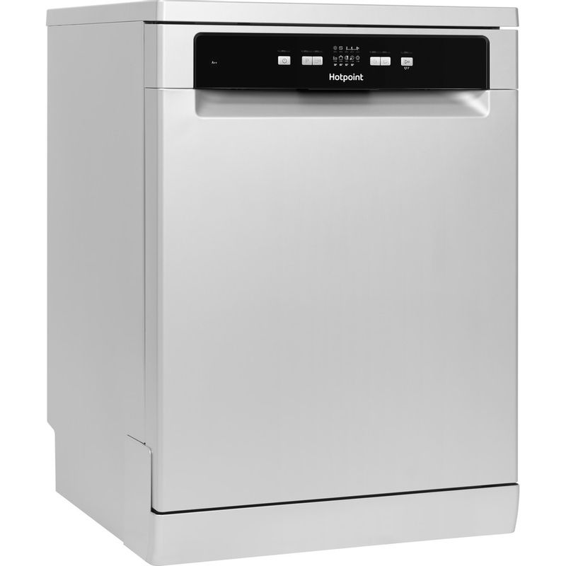 Hotpoint-Dishwasher-Free-standing-HDFC-2B-26-SV-UK-Free-standing-A-Perspective