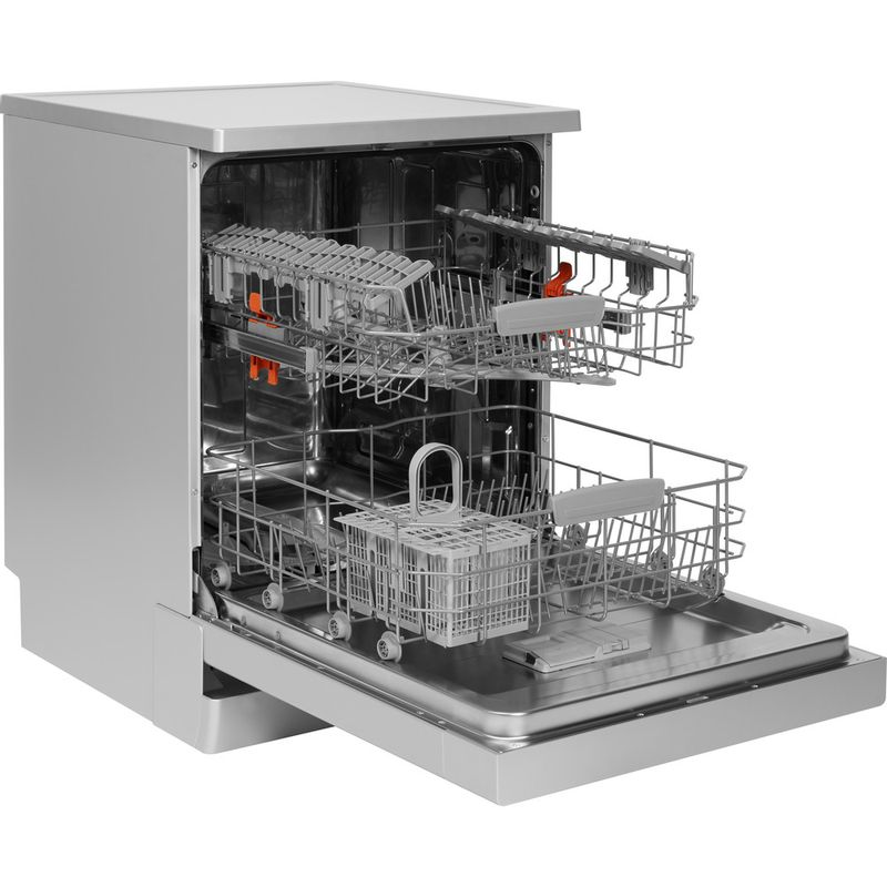 Hotpoint-Dishwasher-Free-standing-HDFC-2B-26-SV-UK-Free-standing-A-Perspective_Open