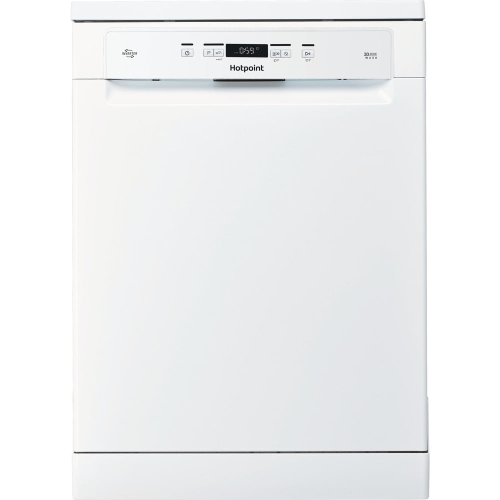 Hotpoint Freestanding Dishwasher HFO 3C23 WF UK : discover the specifications of our home appliances and bring the innovation into your house and family.