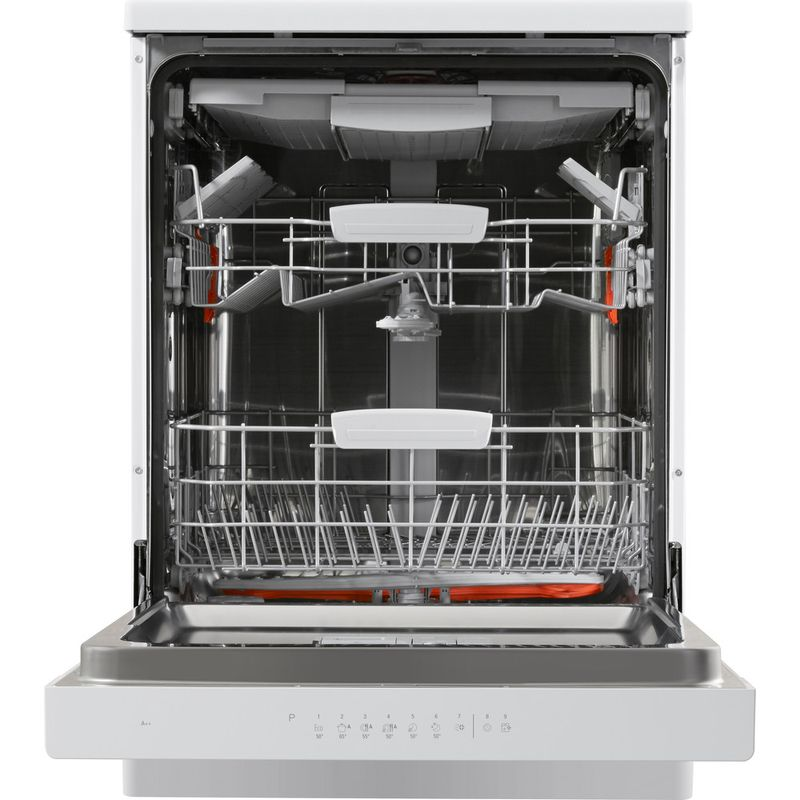 Hotpoint-Dishwasher-Free-standing-HFO-3C23-WF-UK-Free-standing-A-Frontal-open