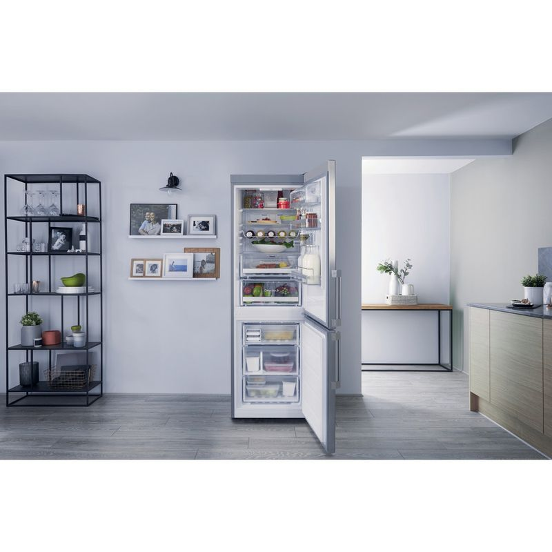 Hotpoint-Fridge-Freezer-Free-standing-SMP9-D2Z-X-H-Optic-Inox-2-doors-Lifestyle_Frontal_Open