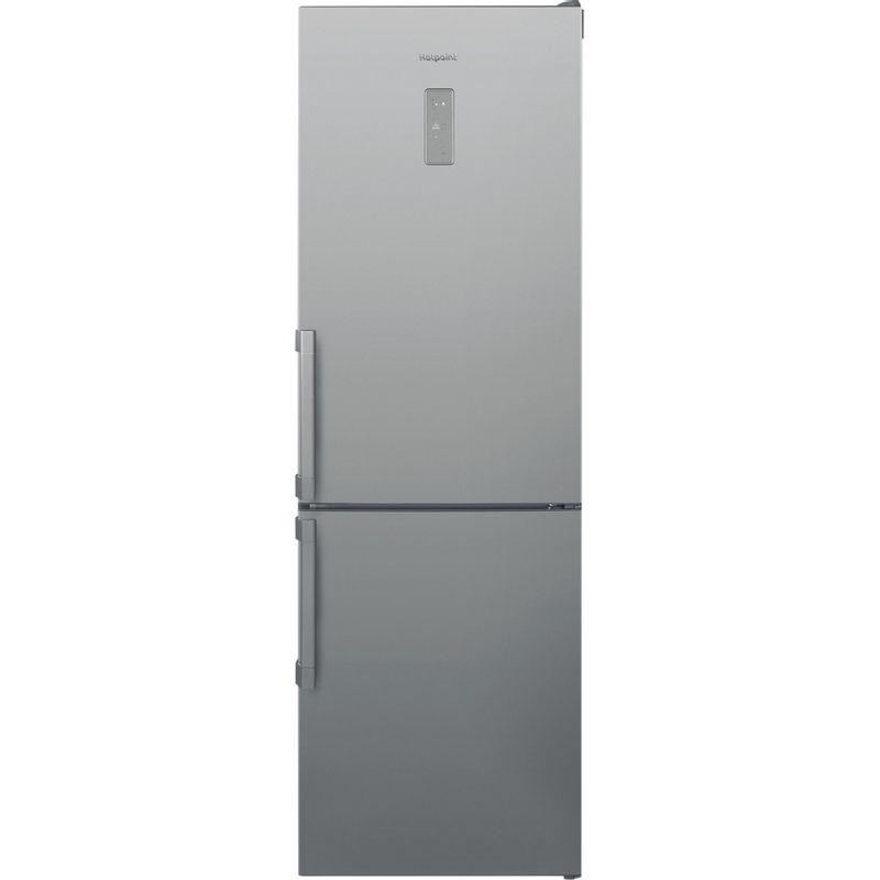 Hotpoint-Fridge-Freezer-Free-standing-SMP8-D2Z-X-H-Optic-Inox-2-doors-Frontal