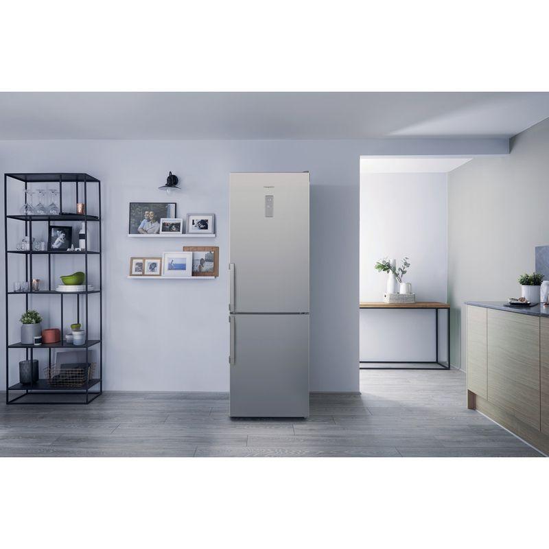 Hotpoint-Fridge-Freezer-Free-standing-SMP8-D2Z-X-H-Optic-Inox-2-doors-Lifestyle_Frontal