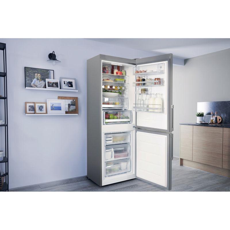 Hotpoint-Fridge-Freezer-Free-standing-SMP8-D2Z-X-H-Optic-Inox-2-doors-Lifestyle_Perspective_Open