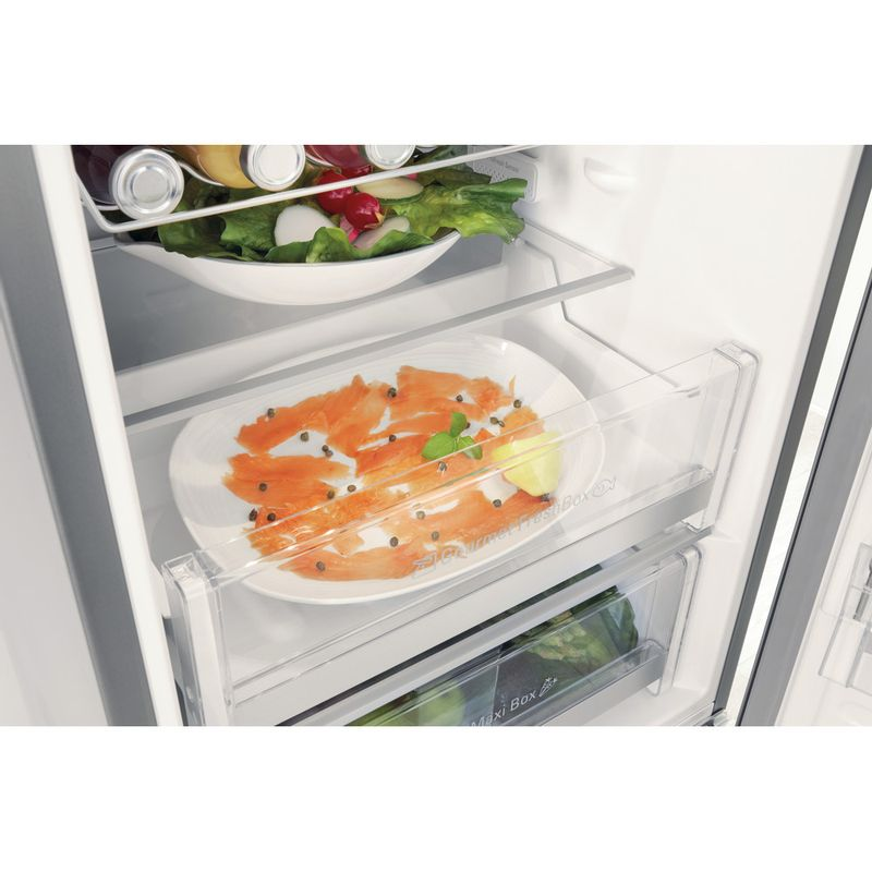 Hotpoint-Fridge-Freezer-Free-standing-SMP8-D2Z-X-H-Optic-Inox-2-doors-Drawer