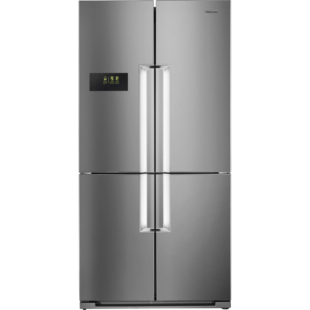 Hotpoint Side by Side Fridge Freezer HPSN  4T A+ IN : discover the specifications of our home appliances and bring the innovation into your house and family.