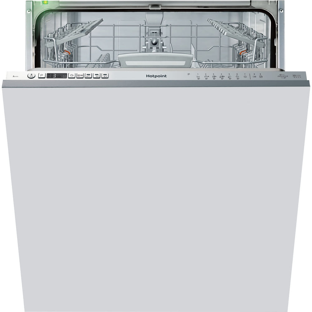 Hotpoint Integrated Dishwasher HIO 3T232 WG E UK : discover the specifications of our home appliances and bring the innovation into your house and family.