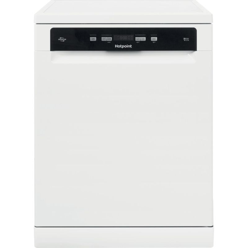 Hotpoint-Dishwasher-Free-standing-HFO-3T221-WG-C-UK-Free-standing-A-Frontal