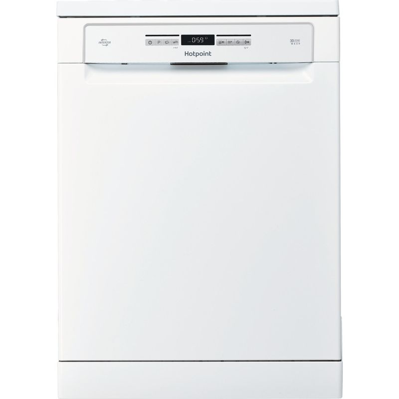 Hotpoint-Dishwasher-Free-standing-HFO-3O32-WG-C-UK-Free-standing-A-Frontal