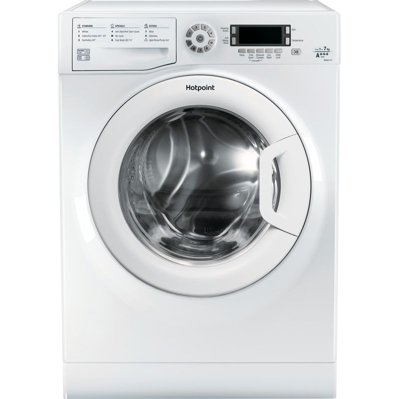 Hotpoint-Washing-machine-Free-standing-WMAOD-743P-UK-White-Front-loader-A----Frontal