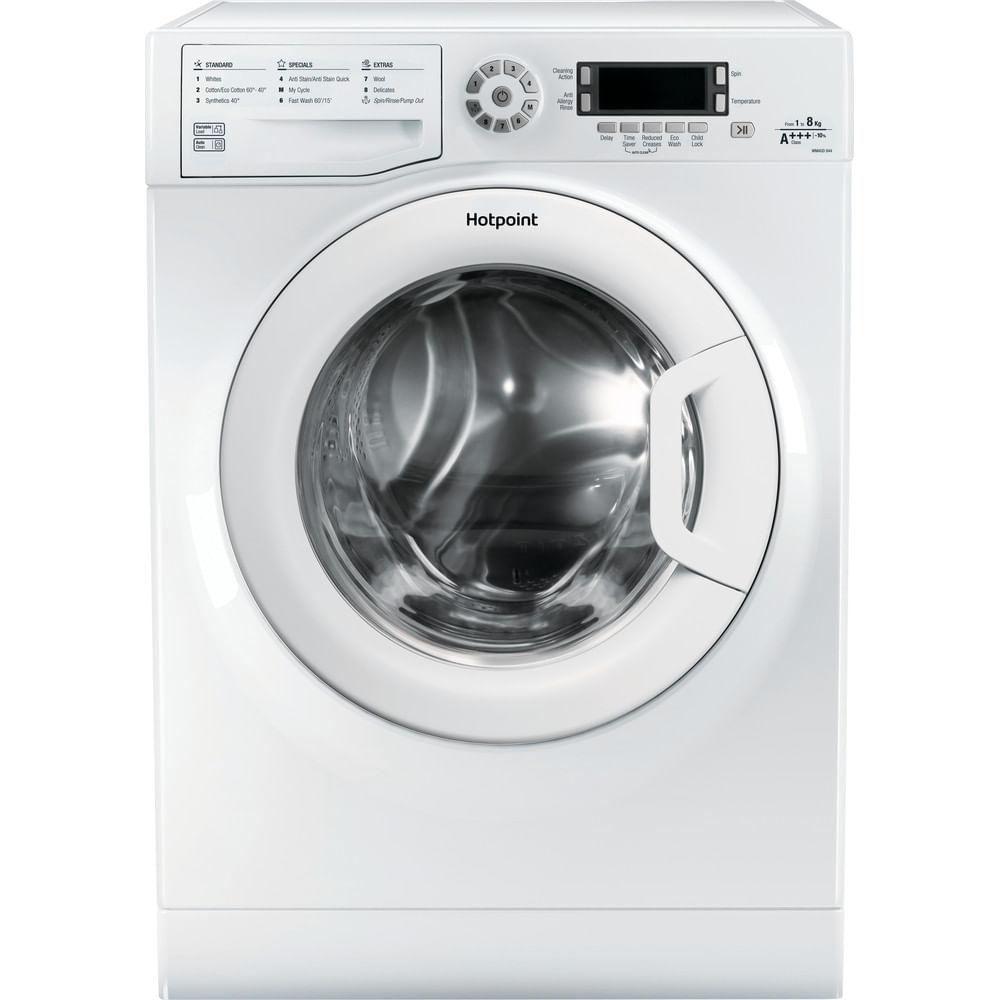 Hotpoint Freestanding Washing Machine WMAOD 844P UK : discover the specifications of our home appliances and bring the innovation into your house and family.