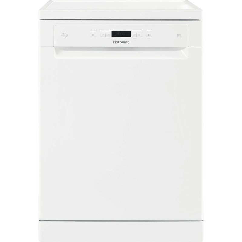 Hotpoint-Dishwasher-Free-standing-HFC-3C26-W-UK-Free-standing-A---Frontal