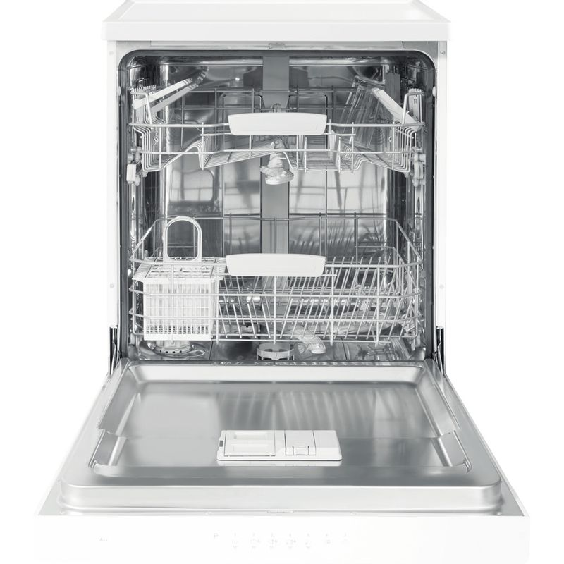 Hotpoint-Dishwasher-Free-standing-HFC-3C26-W-UK-Free-standing-A---Frontal_Open