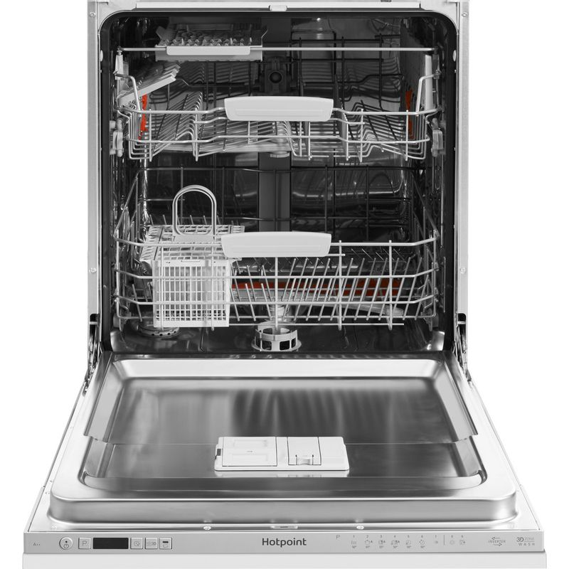 Hotpoint-Dishwasher-Built-in-HIC-3C26-WF-UK-Full-integrated-A---Frontal-open