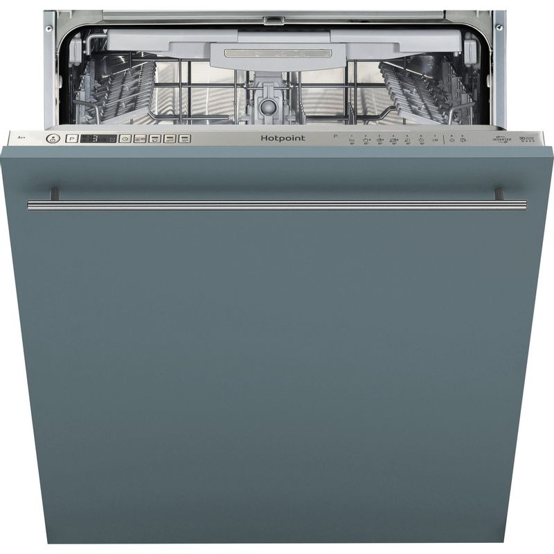 Hotpoint-Dishwasher-Built-in-HIO-3P23-WL-E-UK-Full-integrated-E-Frontal