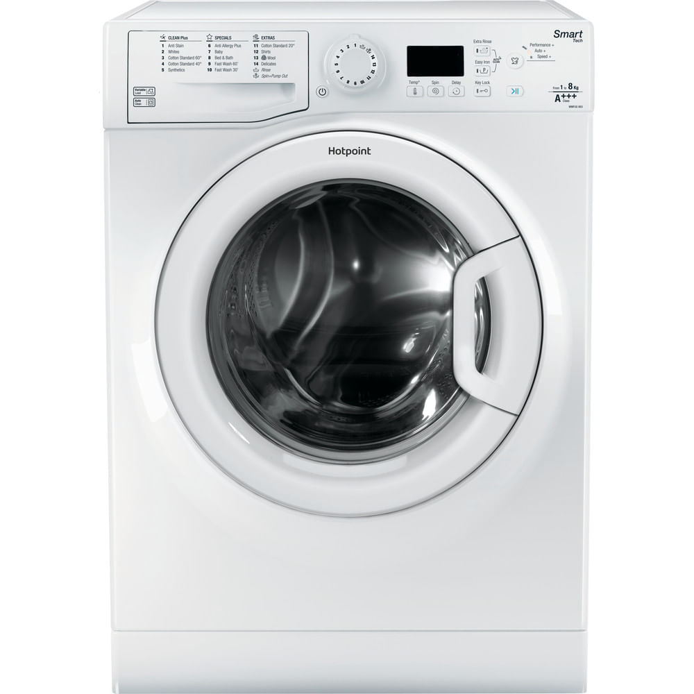 Hotpoint Freestanding Washing Machine WMFUG 863P UK : discover the specifications of our home appliances and bring the innovation into your house and family.