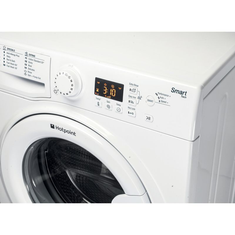 Hotpoint-Washing-machine-Free-standing-WMFUG-863P-UK-White-Front-loader-A----Control_Panel