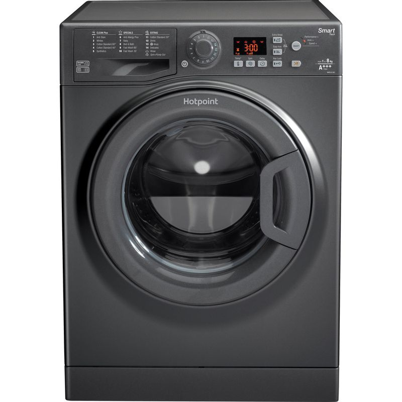 Hotpoint-Washing-machine-Free-standing-WMFUG-863G-UK-Graphite-Front-loader-A----Frontal