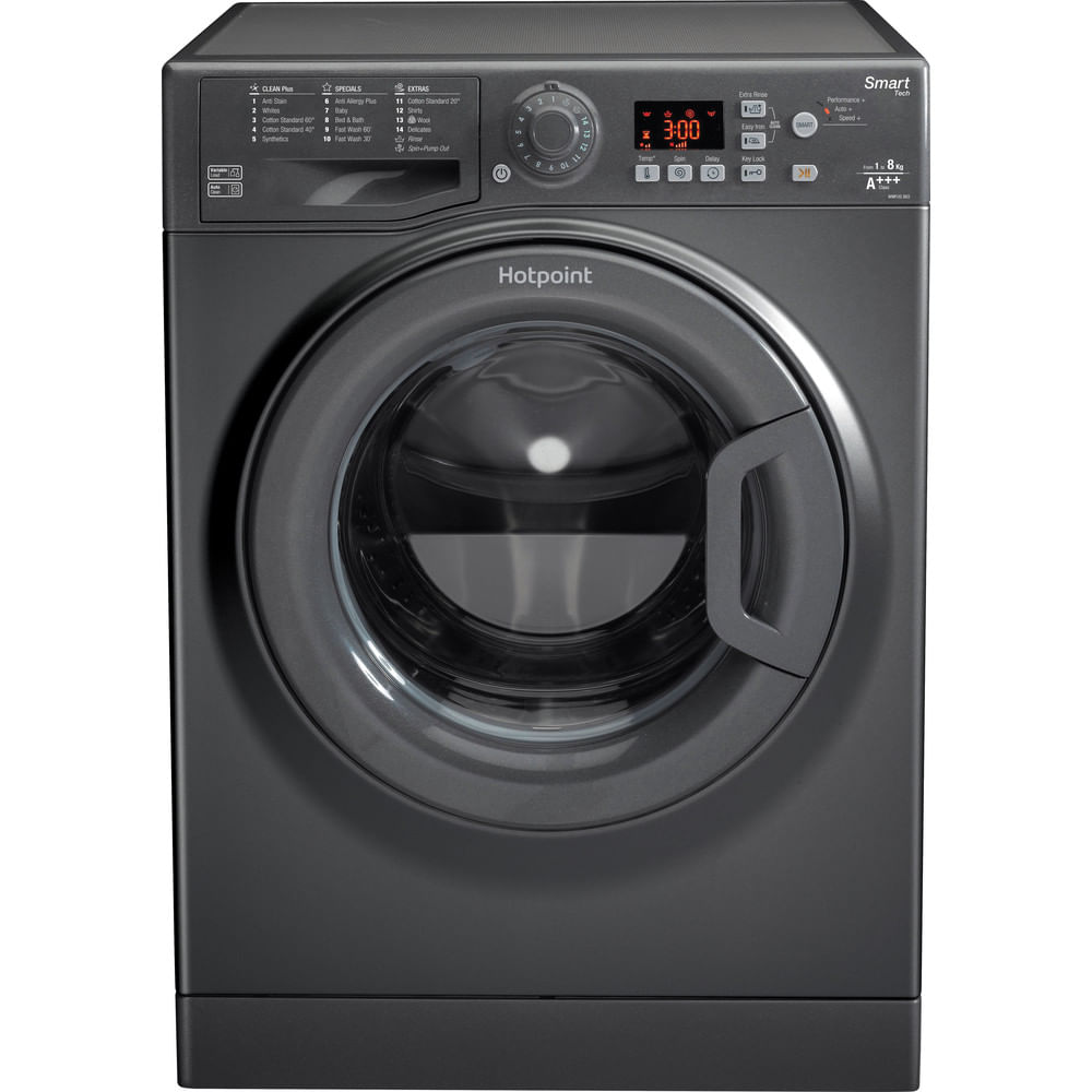 Hotpoint Freestanding Washing Machine WMFUG 863G UK : discover the specifications of our home appliances and bring the innovation into your house and family.