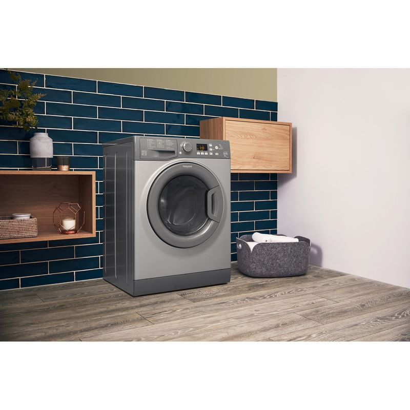 Hotpoint-Washer-dryer-Free-standing-FDF-9640-P-UK-White-Front-loader-Lifestyle-perspective